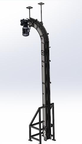 Магнитный транспортер Подъемник МТП-4000