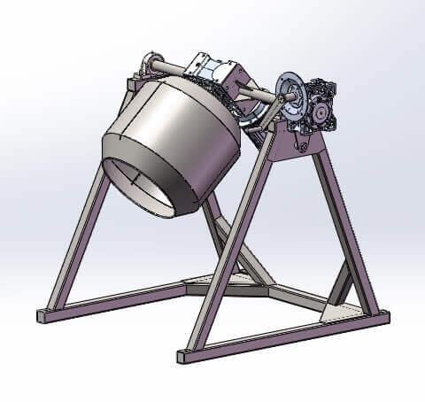 Бункер Смесительный Тип БС-80 AiSi 304