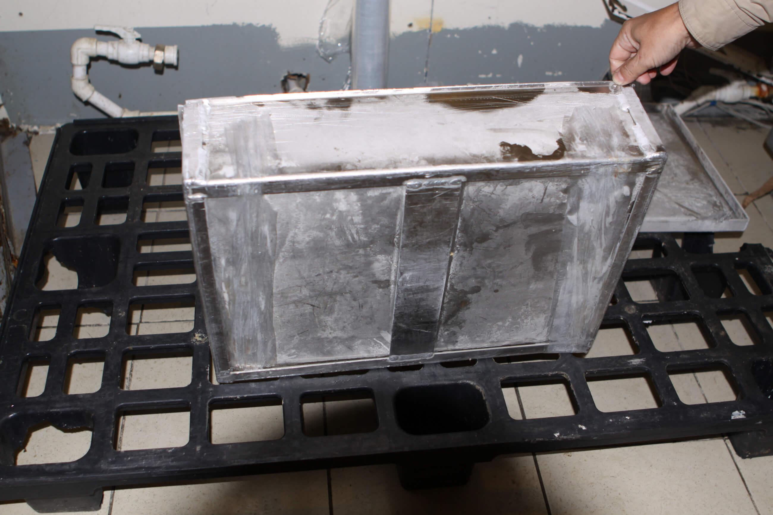 Блок-Форма для Заморозки  Мясных Блоков  540х380х130  А5