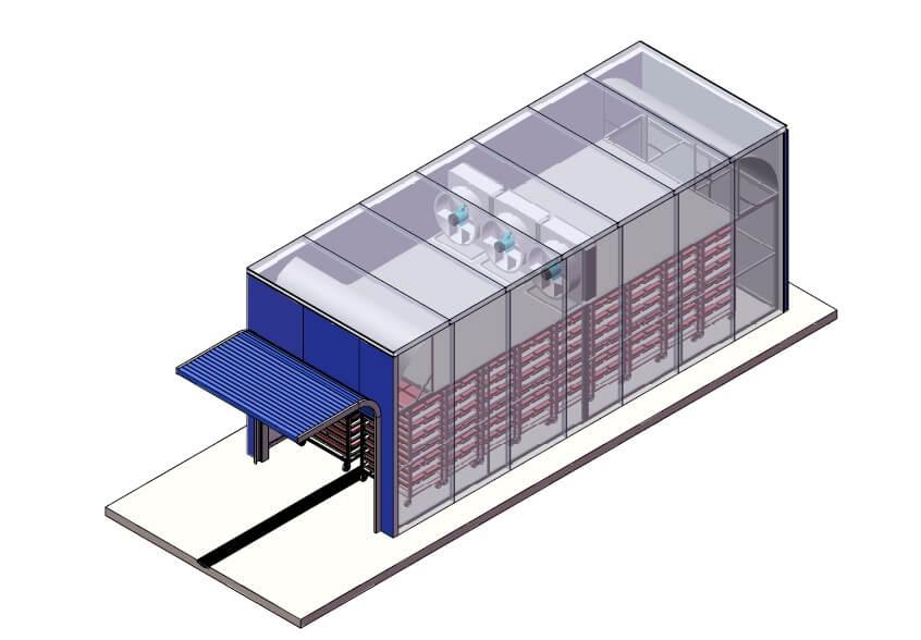 Камера Дефростации  КД-8000  c холодильным агрегатом