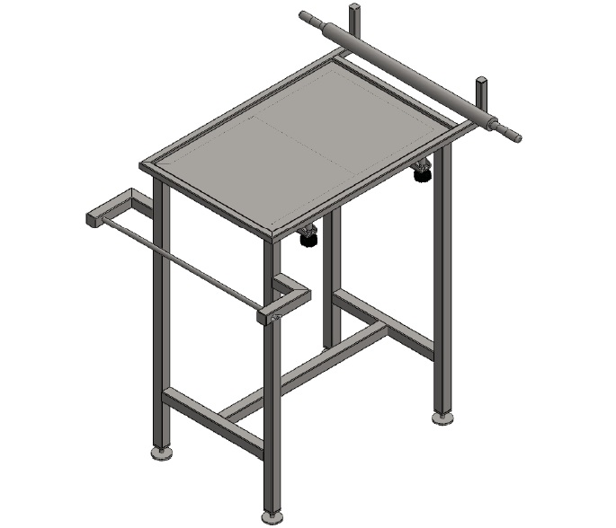 Стол раскатки Фарша Тип Фарш-80 Aisi 304