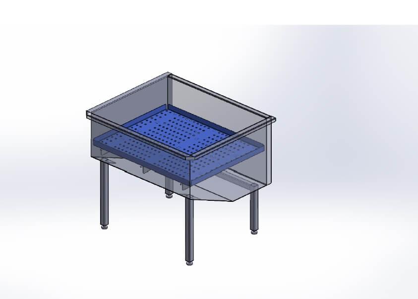 Ванна Моечная ВМ-100  Aisi 304